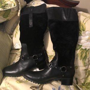 NWOTs Aigner Black Boots